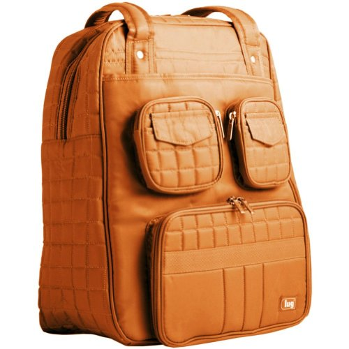 Lug Puddle Jumper Overnight/Gym Bag, Sunset Orange