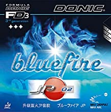 Donic Rubber Bluefire JP02 200 mm red