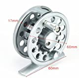Top Grade Brand New Aluminum Fishing Fly Reels Trout 2+1bb 2/3 Silver Color Line Capacity 3mm/240m