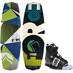 Liquid Force Witness Grind Wakeboard 136 Mens + Element Bindings Sz 8-12 by Liquid Force