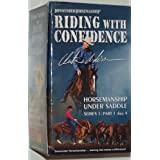 Downunder Horsemanship by Clinton Anderson Riding with Confidence - Horsemanship Under Saddle Series 1: Part 1 thru 4 (VHS)