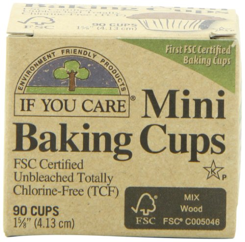 If You Care Mini Baking Cups, 90-Count Packages (Pack of 24) (If You Care Baking Cups compare prices)