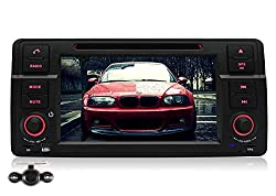 See Pumpkin 7 inch In Dash HD Capacitive Touch Screen Car DVD Player for BMW E46 GPS Navigation Stereo Support Bluetooth/SD/USB/Ipod/FM/AM Radio/DVR/3G/AV-IN/1080P with Backup Camera as gift Details