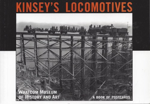 Kinsey's Locomotives (Postcard Books)