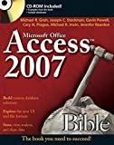 img - for Access 2007 Bible by Michael R. Groh (2007-01-10) book / textbook / text book