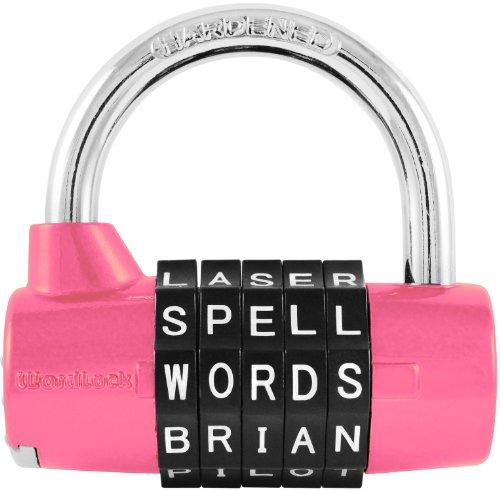 wordlock-pl-001-pk-5-dial-combination-padlock-pink