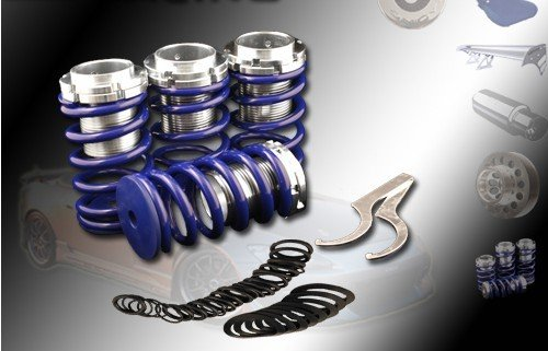 (Blue)90 91 92 93 94 95 96 97 98 99 00 01 02 Honda Accord Dx Ls Ex Lowering Coilover Spring Kits (Lowering Springs Honda Accord compare prices)
