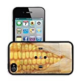 Luxlady Premium Apple iPhone 4 iPhone 4S Aluminum Backplate Bumper Snap Case IMAGE ID 21431263 socket with corn concept for alternative source of energy