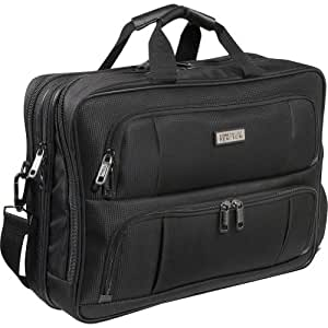 Kenneth Cole Reaction Surprisingly Easy R-Tech XL Laptop Brief - Black