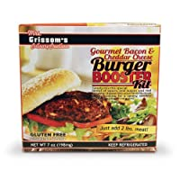 Gourmet Bacon & Cheddar Cheese Burger Kit