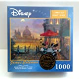 Mickey and Minnie in Venice, Limited Edition, 1000 piece puzzle.