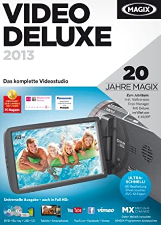 MAGIX Video deluxe 2013 [Download]