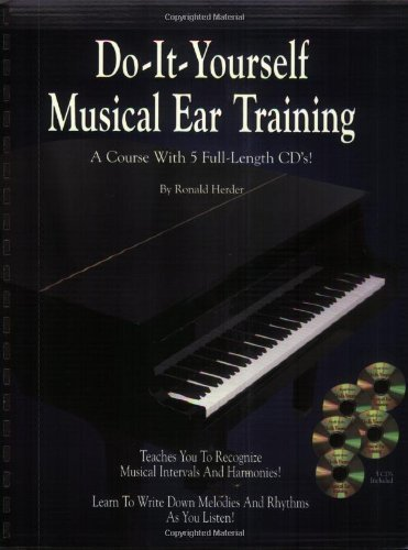 Do It Yourself Musical Ear Training (Spiral-Bound Book & 5 CDs) by Herder, Ronald (2001) Plastic Comb