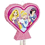 Princess Sparkle Heart Pinata, Pull String