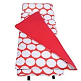Wildkin Red and White Big Dot Original Nap Mat, One Size