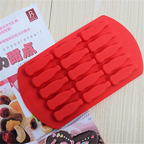 15 Factory Outlets Even Coke Bottle Style Silicone Cake Mold Chocolate Mold Ice Lattice Mold Baking Diy^. (Coca Cola Cake Pan compare prices)