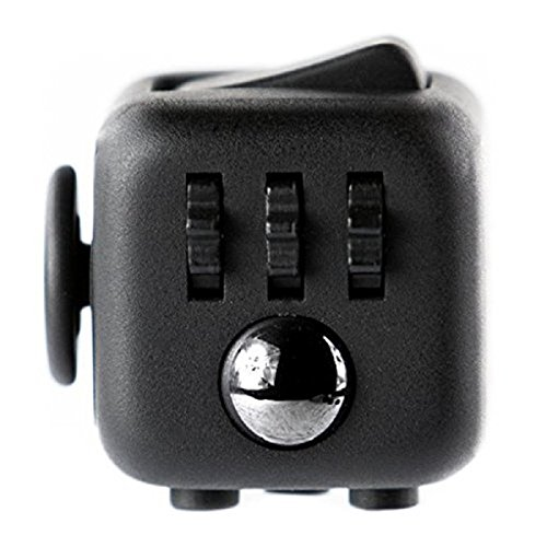 Fidget Cube 1Pcs de 6 piezas de juguete alivia el estrés y la ansiedad El mejor regalo de Navidad para niños y adultos
