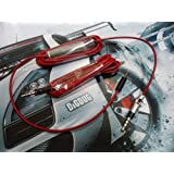 Replacement Audio Remote Mic Cable Cord Line Wire Set for Sennheiser Momentum Headphones Color Red