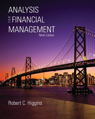 Analysis for Financial Management with S&P bind-in...