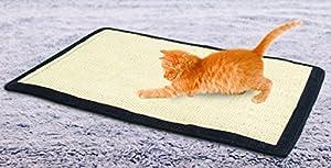 2 In 1 Cat Scratcher Mat And Furniture Protector