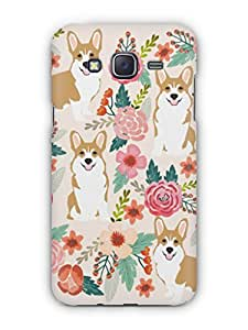 Cover Affair Nature Printed Back Cover Case for Samsung Galaxy J3