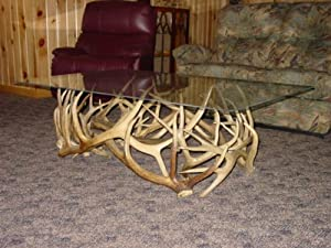 Rustic Furniture - Coffee Table w/ Glass Top - CT-1