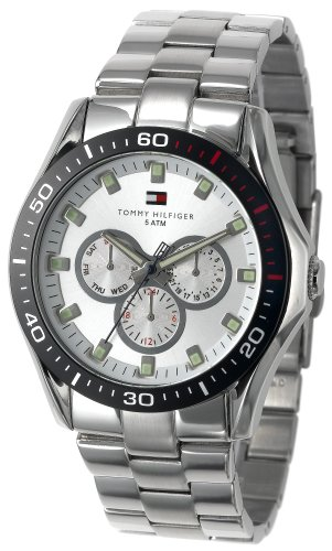 Tommy Hilfiger Men's 1790606 Multi-Function Stainless Steel Bracelet Watch