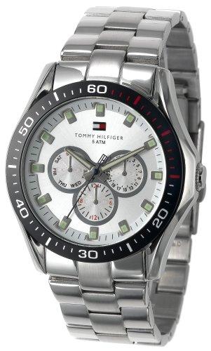 Tommy Hilfiger Men's 1790606 Multi-Function Stainless Steel Bracelet Watch
