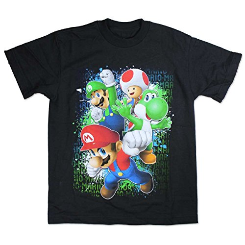 Mario Bothers and Friends Youth T-shirt