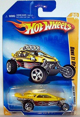 2009 Hot Wheels 020/190 Dune It Up Yellow 1:64 - 1
