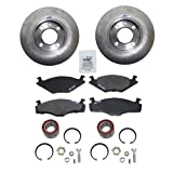 Brake discs solid Ã239mm + Brake pad + Wheel bearing kit front VW POLO 6N1 1.0,1.3,1.6,1.9 D/SDI YEAR 1994-99 + BOX 6NF; VW POLO 6N2 1.9 D/SDI YEAR 1999-01