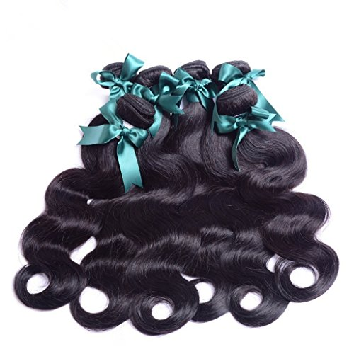 Danolsmann-Hair-6A-Unprocessed-Mixed-lengths-4-BundlesLot-Malaysia-Virgin-Human-Hair-Extensions-Natural-Color-Body-Wave-Weaves