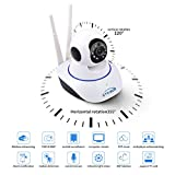 #6: TR-Wireless HD IP Wifi CCTV indoor Security Camera,(White Color)