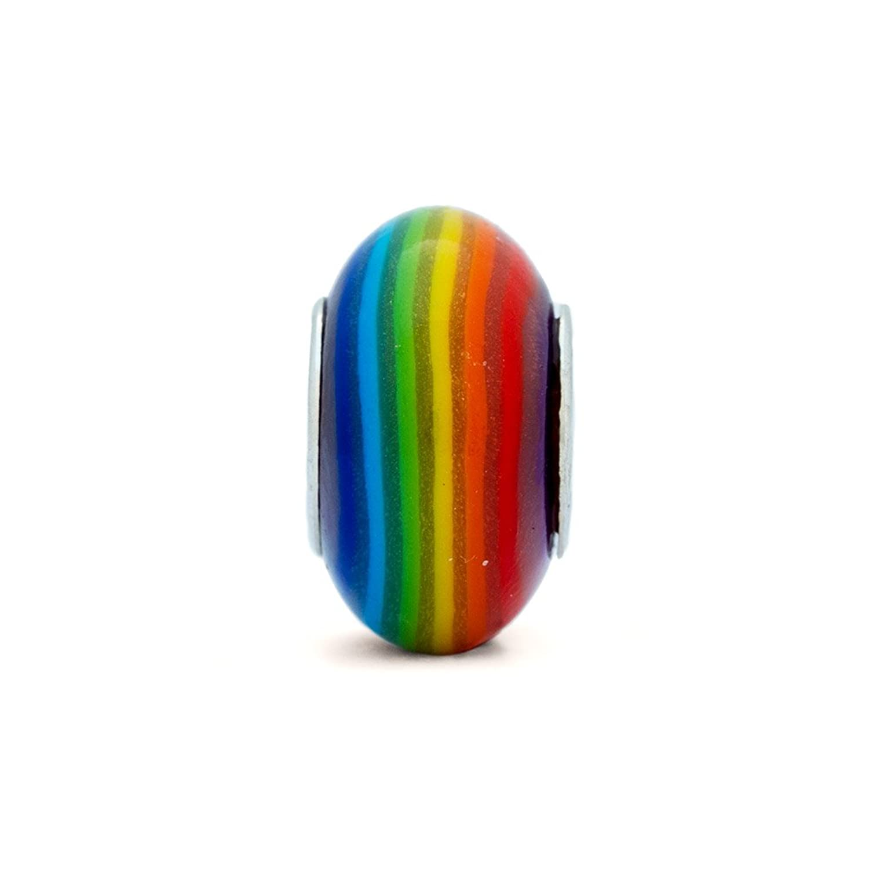 Rainbow Oriana Bead - Pandora Charm Compatible кольцо pandora 925 silverring charm