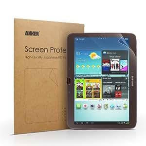 [1-Pack] Anker® Galaxy Tab 3 10.1 Zoll Matte Schutzfolie Displayschutz Screen Protector für Samsung Galaxy Tab 3 10.1 SM-P5210 - Matt - AntiReflex - Beste Qualität aus Japanischem PET Material