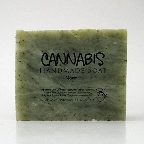 Wink+Soap Cannabis Handmade Soap