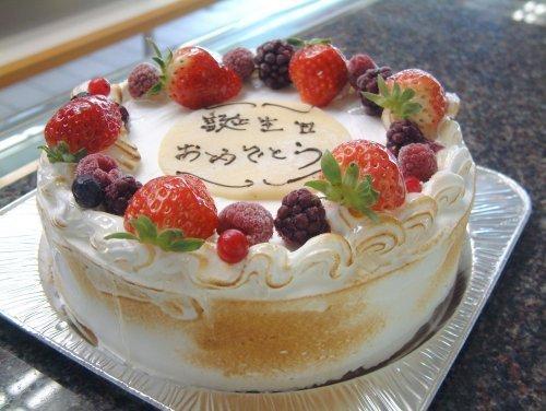 お誕生日に最適!~ホールアイスケーキ M