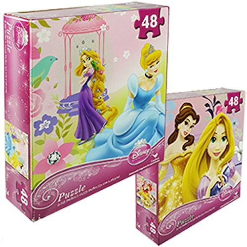 "Disney Assorted Princess Puzzle 9"" x 10"" 48 Piece"