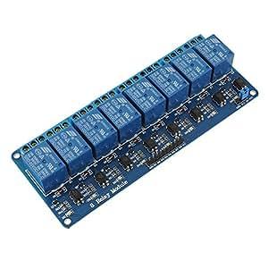 8 Kanal 5V Relay Relais Module Modul für Arduino 8051