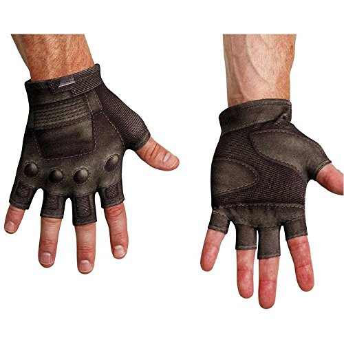 Captain America Movie 2 Adult Gloves - One Size