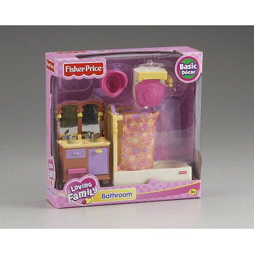 Fisher Price Loving Family Dollhouse Bathroom