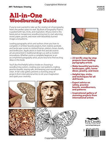 Big Book of Pyrography Projects Expert Techniques and 23 All Time Favorite Projects