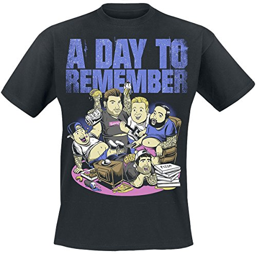 A Day To Remember Heaviest Pop Punk Band, Ever T-Shirt nero XXL