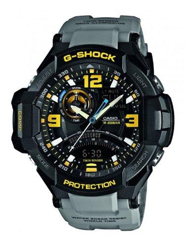 Casio  G-Shock Superior Series - Reloj de cuarzo para hombre, con correa de resina, color gris