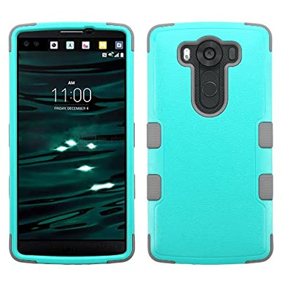 LG V10 Case, Phonelicious (Tm) LG V10 Heavy Duty Rugged Impact Armor Hybrid Dynamic Verge Case Phone Tuff Robust Cover + Screen Protector & Stylus by Phonelicious