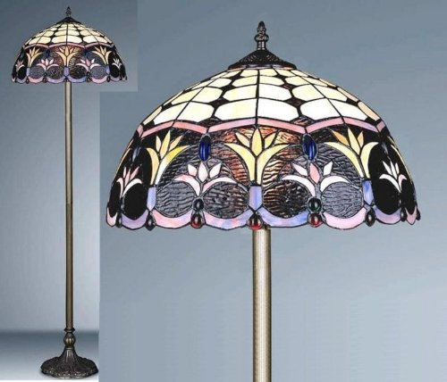 Spring Weeds Tiffany Floor Lamp