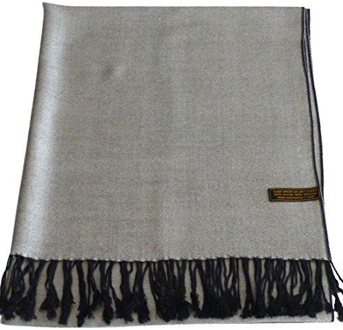 cj-apparel-gris-clair-noir-solides-secondes-couleur-chale-pashmina-decharpe