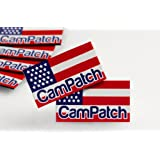 CamPatch Webcam Cover - USA Flag (2 per-order)