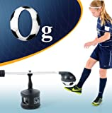 0g Soccer First Touch,Juggling and Foot Skills In Home Youth Trainer/Training System (Rapid Gross Motor Development) Size 4 Youth Soccer Ball Included.