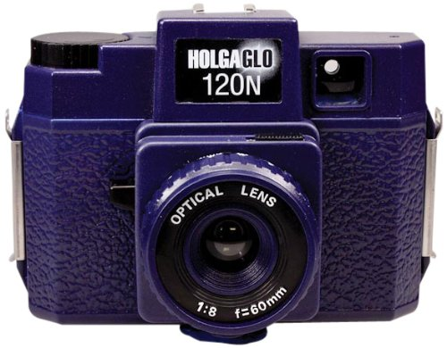 Best Price Holga Holgaglo 120 Camera - Ultra Violet